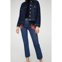 Mango - Jeansy Roses. Niebieskie jeansy damskie marki Mango. W wyprzedaży za 99,90 zł.