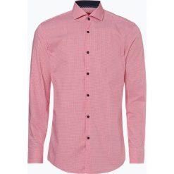 HUGO - Koszula męska łatwa w prasowaniu – Kery, czerwony. Niebieskie koszule męskie non-iron marki HUGO, m, z bawełny. Za 349,95 zł.