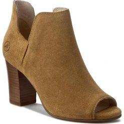 Botki BRONX - 33926-H BX 646 Tan 986. Czarne buty zimowe damskie marki Bronx, z materiału. W wyprzedaży za 219,00 zł.