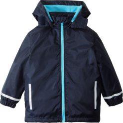Kurtka przeciwdeszczowa ocieplana bonprix błękit laguny - ciemnoniebieski. Czarne kurtki dziewczęce przeciwdeszczowe marki Roxy, na zimę. Za 49,99 zł.