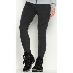 Spodnie dresowe damskie: Ciemnoszare Spodnie Dresowe Inner Smile