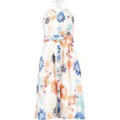 Sukienki hiszpanki: MINKPINK ZION SMOCKED HALTER DRESS Sukienka letnia white