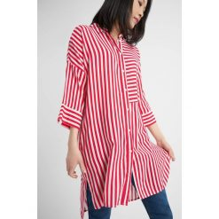 Bluzki asymetryczne: Długa bluzka w paski