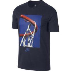 Nike Koszulka Sportswear Tee Verbiage M Granatowa r. 2XL - (875713-451). Szare koszulki sportowe męskie Nike, m. Za 89,60 zł.
