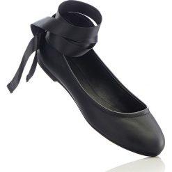 Baleriny damskie lakierowane: Baleriny bonprix czarny