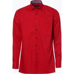 Koszule męskie na spinki: Andrew James – Koszula męska niewymagająca prasowania, czerwony
