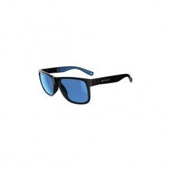 Okulary przeciwsłoneczne MH 540 kategoria 3. Czarne okulary przeciwsłoneczne damskie lenonki QUECHUA, z gumy. Za 59,99 zł.