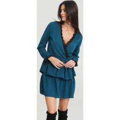 Niebieska Sukienka Summer Love. Niebieskie sukienki hiszpanki other, na lato, uniwersalny, wizytowe. Za 69,99 zł.