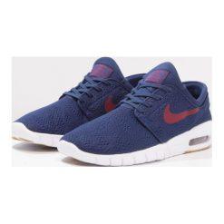 Nike SB STEFAN JANOSKI MAX Tenisówki i Trampki binary blue/team red/light brown. Niebieskie trampki męskie Nike SB, z materiału. W wyprzedaży za 399,20 zł.