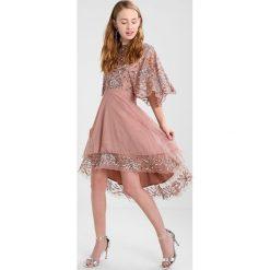 Sukienki hiszpanki: Maya Deluxe HIGH LOW FLOATY DRESS Sukienka koktajlowa pink
