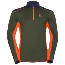 Odlo Bluza Odlo Midlayer 1/2 zip STEEZE                  - 222272 - 222272/40197/XL. Białe bluzy męskie marki Adidas, l, z jersey, do piłki nożnej. Za 199,80 zł.