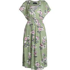 Sukienki hiszpanki: MINKPINK WANDERER MIDI DRESS Sukienka koszulowa green