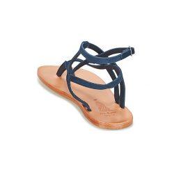 Sandały n.d.c.  GOKHAR. Niebieskie rzymianki damskie n.d.c. Za 580,30 zł.
