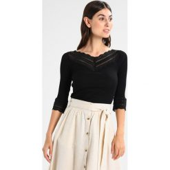 Bluzki asymetryczne: Rosemunde BENITA Bluzka z długim rękawem black