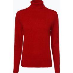 Brookshire - Sweter damski, czerwony. Czarne golfy damskie marki brookshire, m, w paski, z dżerseju. Za 149,95 zł.