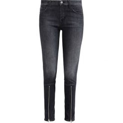 Boyfriendy damskie: J Brand Jeans Skinny Fit black heather