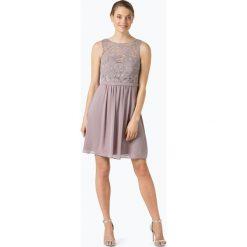 Marie Lund - Elegancka sukienka damska, różowy. Niebieskie sukienki balowe marki Marie Lund, z szyfonu. Za 349,95 zł.