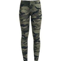 Spodnie damskie: RED by EMP Built For Comfort Legginsy kamuflaż Woodland