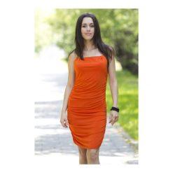 Sukienki: Sukienka Atena pomarańczowa