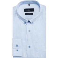 Koszula SIMONE KLNS500032. Niebieskie koszule męskie na spinki Giacomo Conti, na lato, m, z bawełny. Za 299,00 zł.