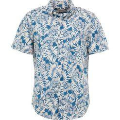 Koszule męskie na spinki: J.CREW SLUB LAWN FERN SHADOW Koszula peacock blue