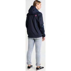 The North Face QUEST JACKET Kurtka hardshell dark blue. Niebieskie kurtki sportowe damskie marki The North Face, xl, z hardshellu. W wyprzedaży za 259,35 zł.