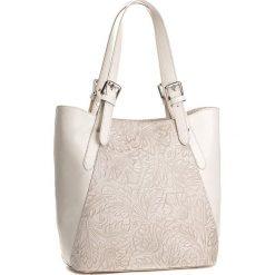 Torebka CREOLE - K10368  Jasny Beż. Brązowe torebki klasyczne damskie Creole, ze skóry. W wyprzedaży za 259,00 zł.