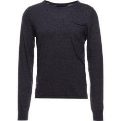 DRYKORN LAWSON Sweter anthracite. Niebieskie swetry klasyczne męskie marki DRYKORN, m, z dekoltem karo. Za 419,00 zł.