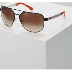 Emporio Armani Okulary przeciwsłoneczne black. Czarne okulary przeciwsłoneczne męskie wayfarery Emporio Armani. Za 609,00 zł.