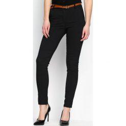 Spodnie damskie: Czarne Spodnie Official Version
