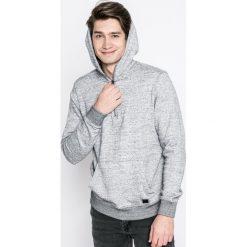 Casual Friday - Bluza. Szare bluzy męskie rozpinane marki Casual Friday, m, z bawełny, z krótkim rękawem, krótkie, z kapturem. W wyprzedaży za 69,90 zł.
