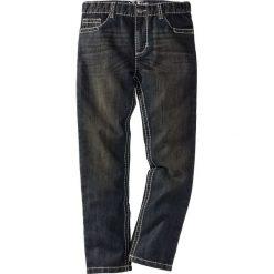 """Dżinsy Slim Fit bonprix czarny """"stone"""". Czarne jeansy męskie relaxed fit bonprix. Za 44,99 zł."""