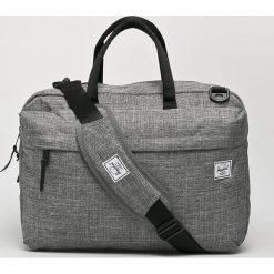 Herschel - Torba Sandford. Szare torby na laptopa marki Herschel, w paski, z materiału. Za 469,90 zł.