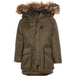 GAP WARMEST SNORKEL Płaszcz puchowy army jacket green. Zielone płaszcze dziewczęce GAP, z materiału. W wyprzedaży za 209,30 zł.