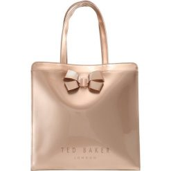Shopper bag damskie: Ted Baker VALLCON BOW DETAIL LARGE ICON BAG Torba na zakupy rosegold