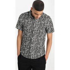 Koszule męskie na spinki: Burton Menswear London ABSTRACT Koszula green