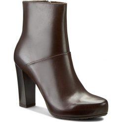 Botki GINO ROSSI - Serena DBH094-T18-0B00-3700-F 92. Brązowe buty zimowe damskie marki Gino Rossi, z polaru, na obcasie. W wyprzedaży za 299,00 zł.