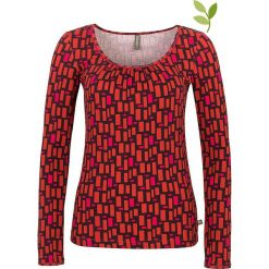 """Bluzki asymetryczne: Koszulka """"Sierra"""" w kolorze czerwono- różowym"""