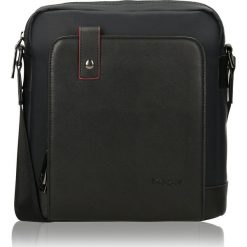 Czarna torba przez ramię. Czarne torby na ramię męskie Kazar, w paski, na ramię, małe. Za 379,00 zł.