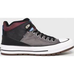 Converse - Trampki. Szare tenisówki męskie Converse, z gumy, na sznurówki. W wyprzedaży za 299,90 zł.