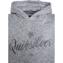 Bejsbolówki męskie: Quiksilver KELLER HOOD ART Bluza z kapturem light grey heather