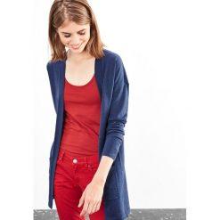 Swetry damskie: Długi sweter niezapinany