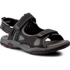 Sandały CANGURO - W004-906 Nero. Czarne sandały męskie skórzane marki Canguro. W wyprzedaży za 139,00 zł.