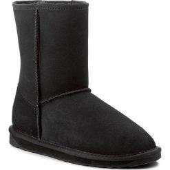 Buty EMU AUSTRALIA - Stinger Lo W10002 Black. Czarne buty zimowe damskie marki EMU Australia, ze skóry, na niskim obcasie. Za 729,00 zł.