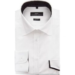 Koszula JUSEPPE 15-03-32-K. Białe koszule męskie na spinki marki Giacomo Conti, m, z bawełny, z klasycznym kołnierzykiem. Za 259,00 zł.