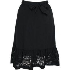 Lauren Ralph Lauren Woman LUXE SKIRT Spódnica trapezowa black. Czarne spódniczki trapezowe Lauren Ralph Lauren Woman, z bawełny. Za 709,00 zł.