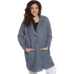 Płaszcze damskie: Płaszcz damski w prostym fasonie, półdługi