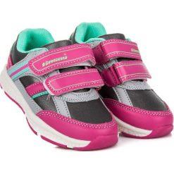 Buciki sportowe dla dziewczynki HARLOW. Czerwone buty sportowe dziewczęce HASBY. Za 79,00 zł.