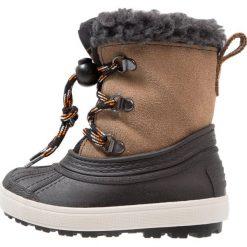 Friboo Śniegowce black/brown. Czerwone buty zimowe chłopięce marki Friboo, z materiału. W wyprzedaży za 135,20 zł.