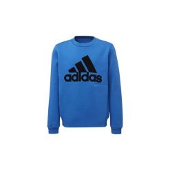Bluzy Dziecko adidas  Bluza z zaokrąglonym dekoltem ID. Niebieskie bluzy chłopięce rozpinane marki Adidas. Za 179,00 zł.